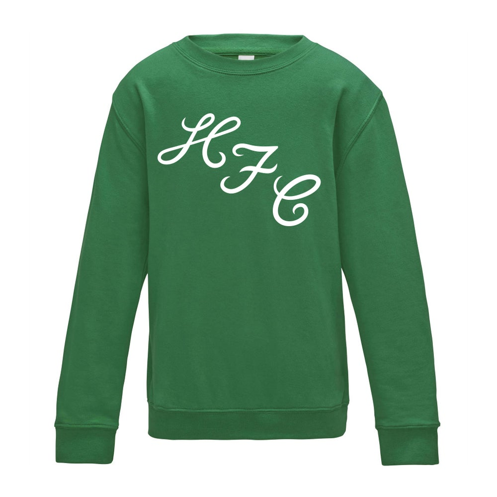 Image of 1972 HFC – Kelly Green Jumper