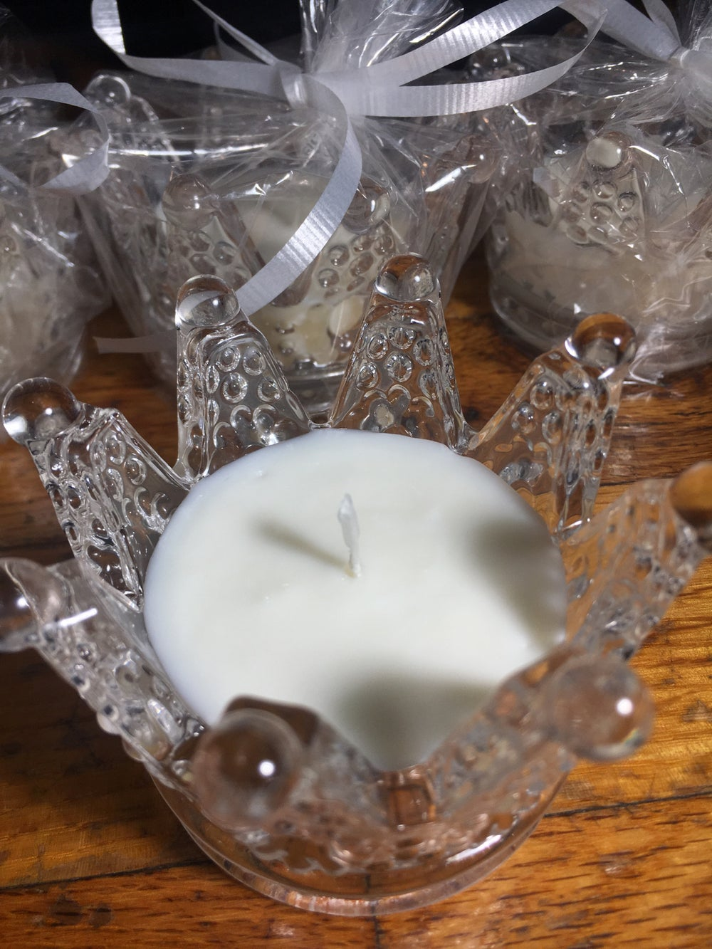Image of Limited Edition - Crown Tea Light Soy Candles