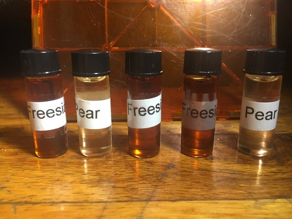 Image of Limited Edition Fragrance Oils 1/4 dram