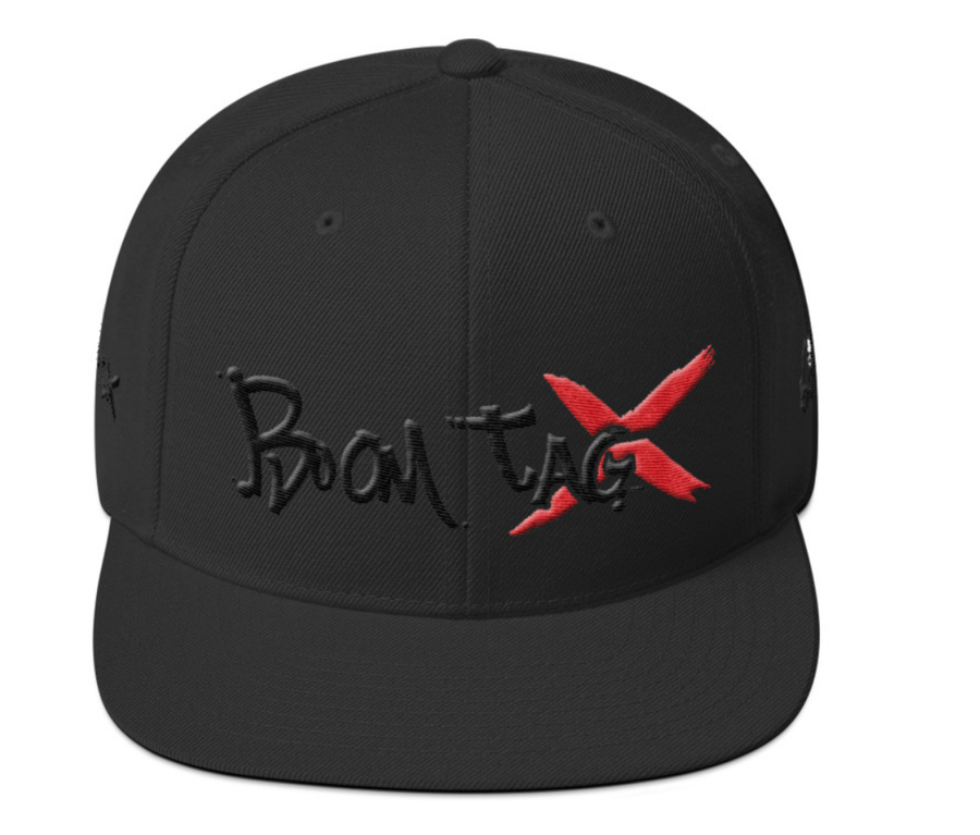 Image of BOOMTAGX Snapback (Red X)