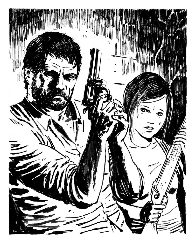 Image of The Last Of Us Sketch