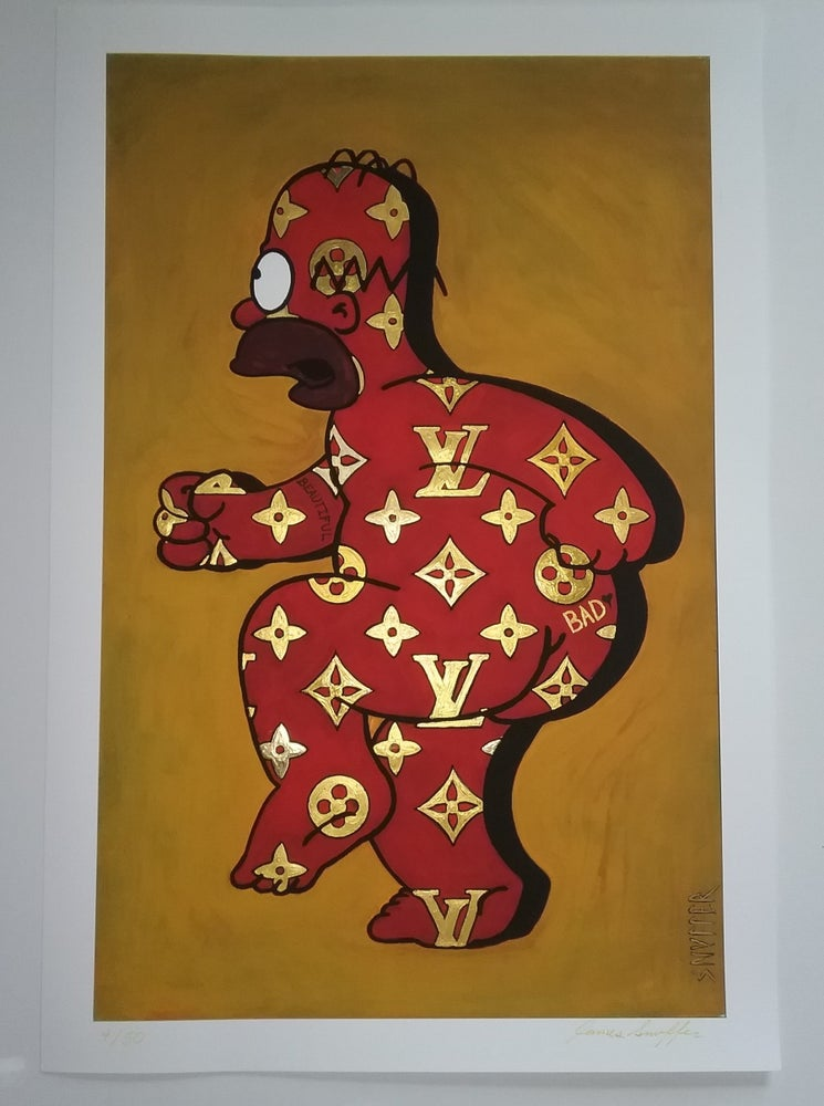 "Image of ""HOMER VUITTON"" (***1st picture is the custom Embellishing option)"