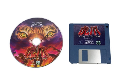 Image of Tiger Claw (Amiga)