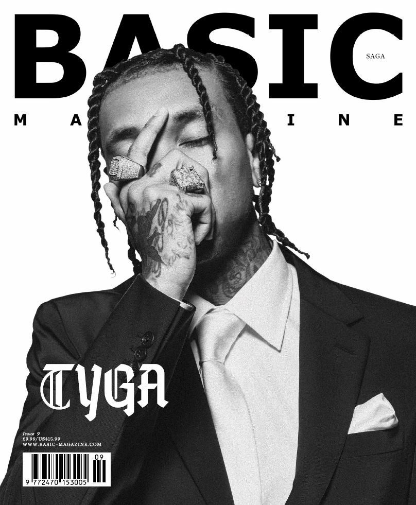 Image of BASIC   T Y G A  Cover || SAGA Issue 9