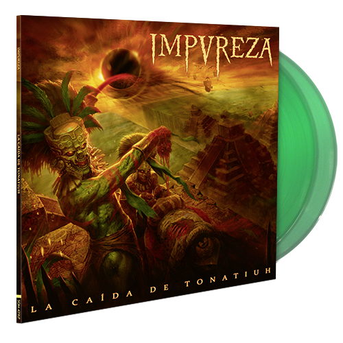 Image of La Caída De Tonatiuh (Double LP Gatefold) - Green Edition 100 ex.