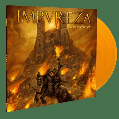 Image of La Iglesia Del Odio (LP) - Orange Edition 250 ex.