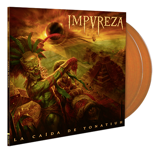Image of La Caída De Tonatiuh (Double LP Gatefold) - Orange Edition 200 ex.