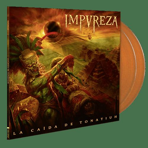 Image of La Caída De Tonatiuh (Double LP Gatefold) - Orange Edition 200 ex.