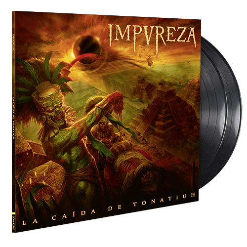 Image of La Caída De Tonatiuh (Double LP Gatefold) - Black Edition
