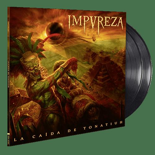 Image of La Caída De Tonatiuh (Double LP Gatefold) - Black Edition