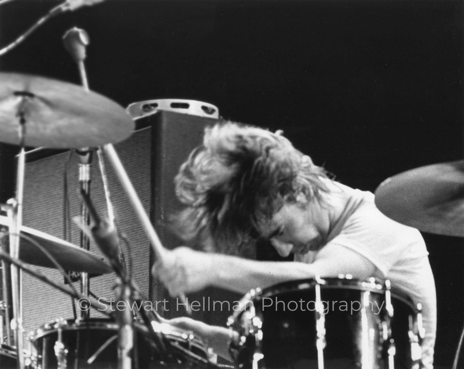 Image of Keith Moon (The Who, Tanglewood Music Shed, 1970) : Limited Edition Fine Art Print #2