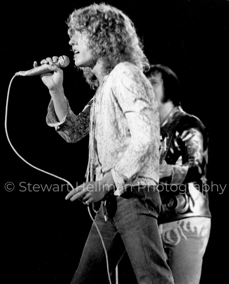 Image of Roger Daltrey/John Entwistle (The Who, Tanglewood Music Shed, 1970) : Limited Edition Fine Art Print
