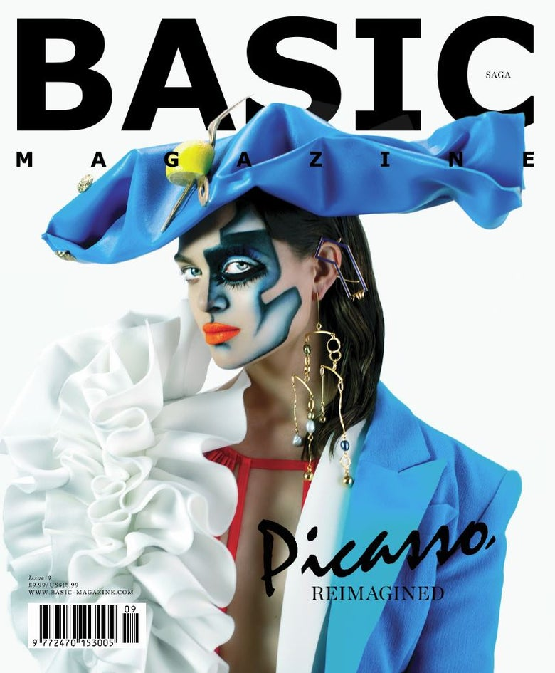 Image of BASIC PICASSO Art Cover || SAGA Issue