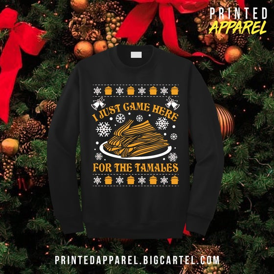 Image of Tamales Long Sleeve Tshirt in Black