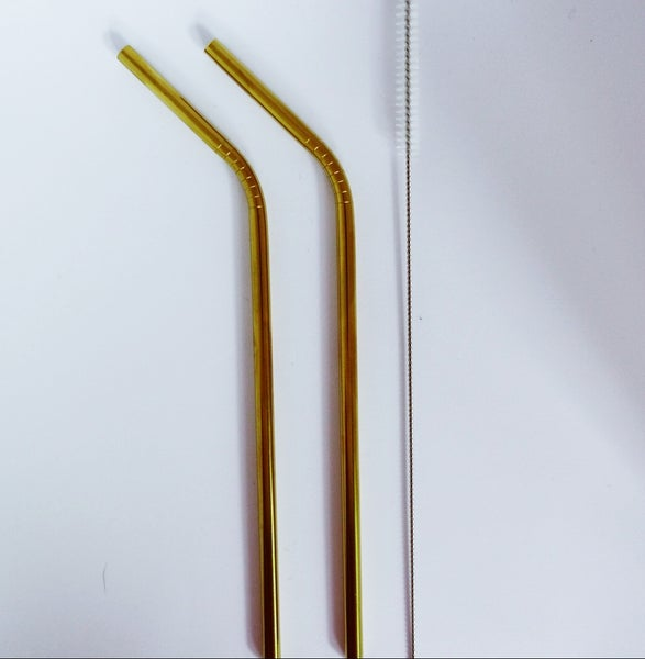 Image of Limited edition - gold straw 2, 4 or 6 pack