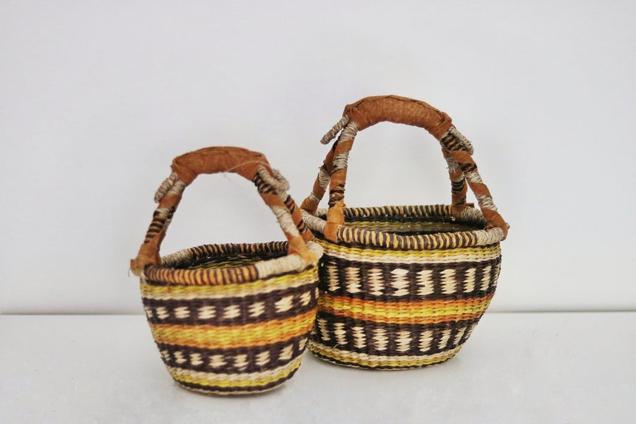 Image of Mink Market Baskets - Autumn