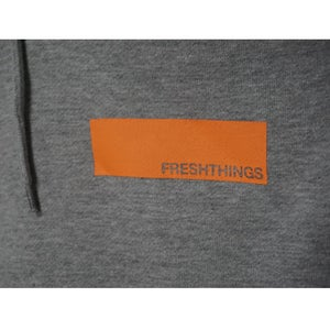 Image of LABEL HOODED SWEATSHIRT