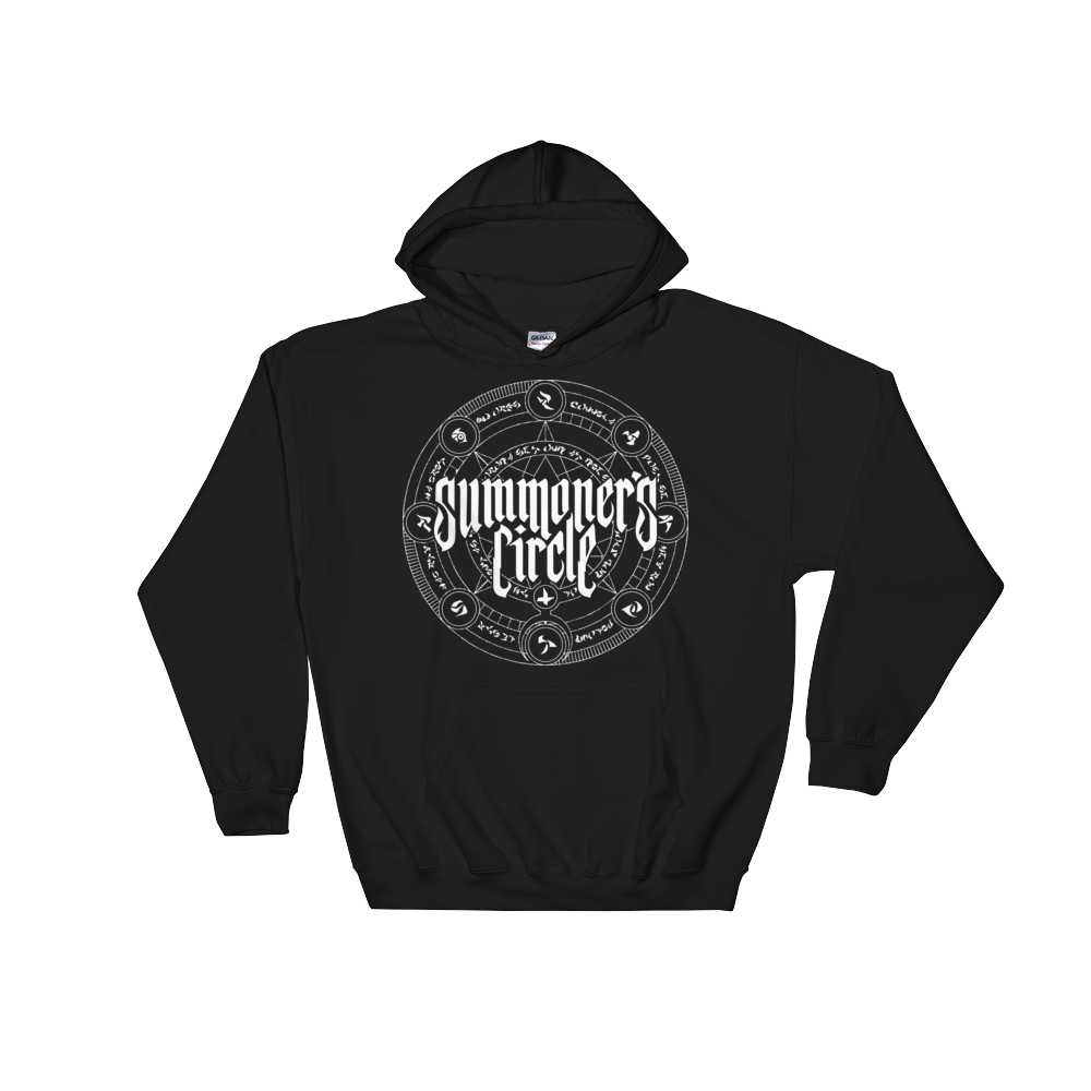 Image of Summoner's Circle Logo Hoodie