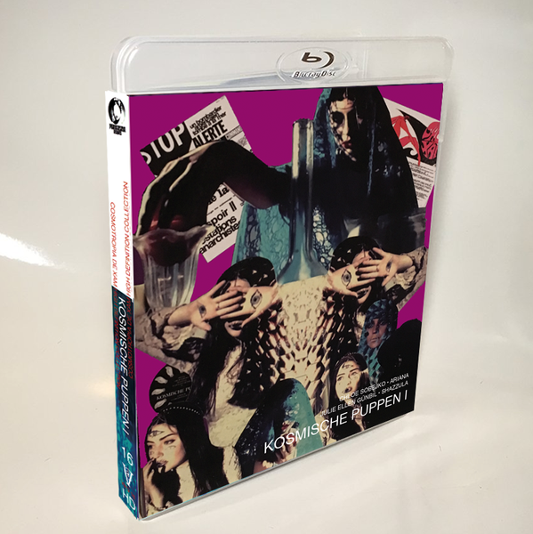 Image of KOSMISCHE PUPPEN I - BLU-RAY-R (HD COLLECTION #16, DESIGN B) SIGNED AND STAMPED, LIMITED 50