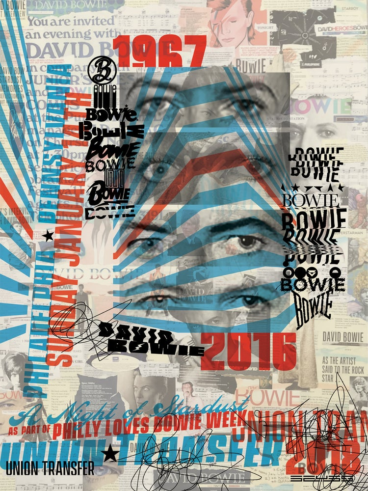 Image of 2018 David Bowie Event Poster