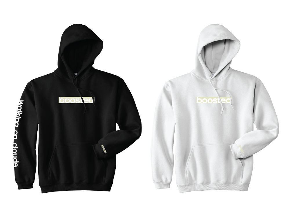 "BOOSTED LONG ""YEEZY COLORWAYS"" EMBROIDERY HOODY"