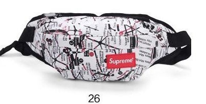 Image of Supreme Themed Style- waist bag/fanny pack