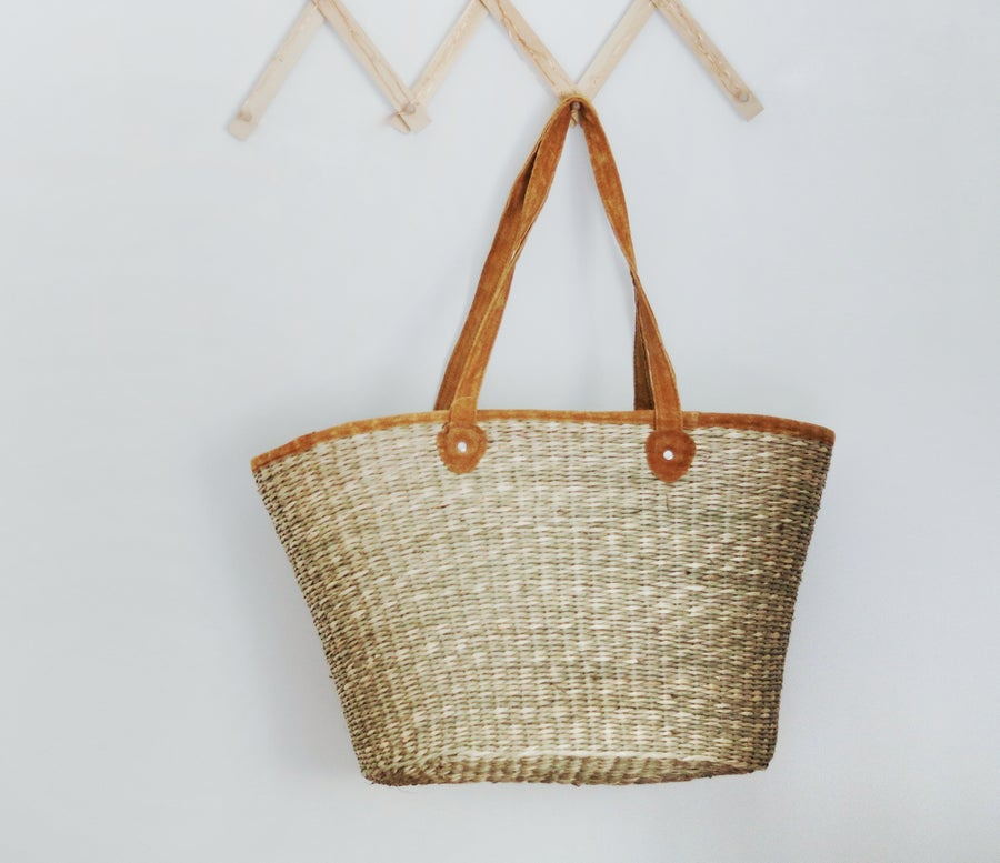 Image of Oval French Market Bag