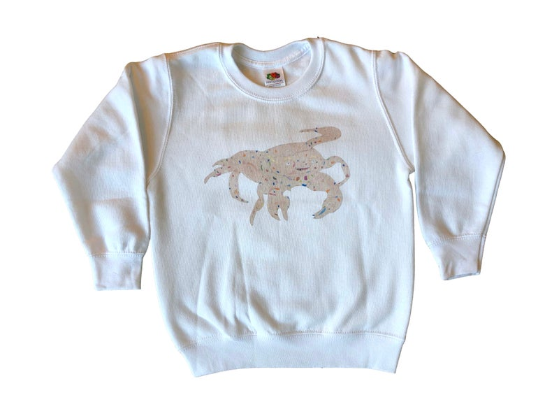 Image of KMAdotcom Nicholas' crab sweatshirt