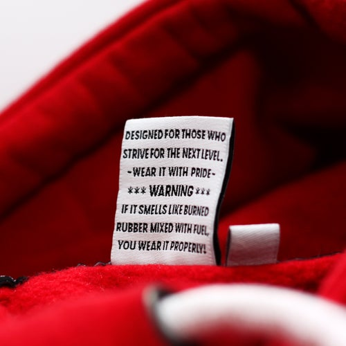 Image of Next Level AGGC Red Hoodie