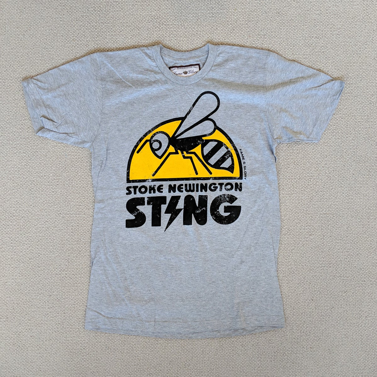Image of Stoke Newington Sting - Premier Cru Edition (Heather Grey)