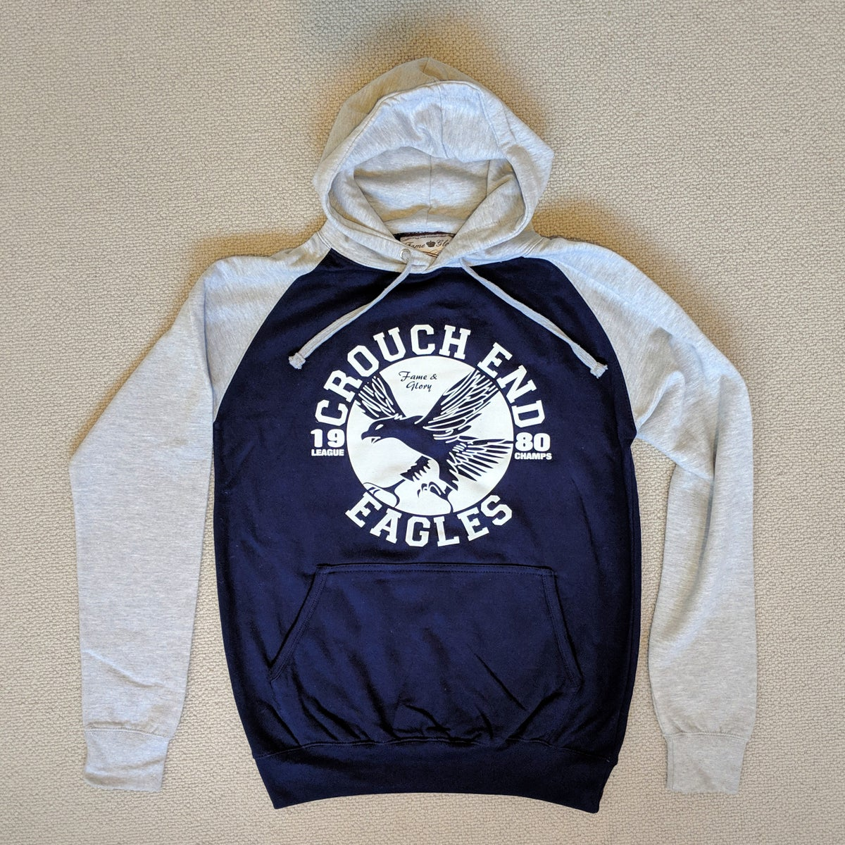 Image of Crouch End Eagles - Baseball Hoodie