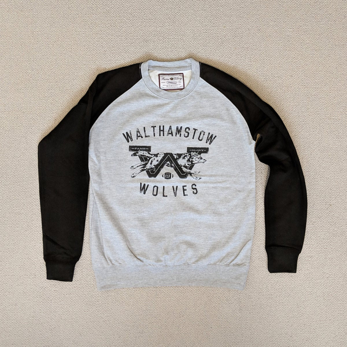 Image of Walthamstow Wolves - Baseball Sweater