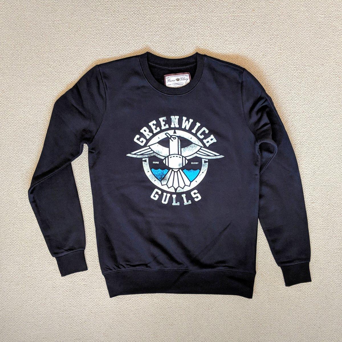 Image of Greenwich Gulls - Navy Sweater