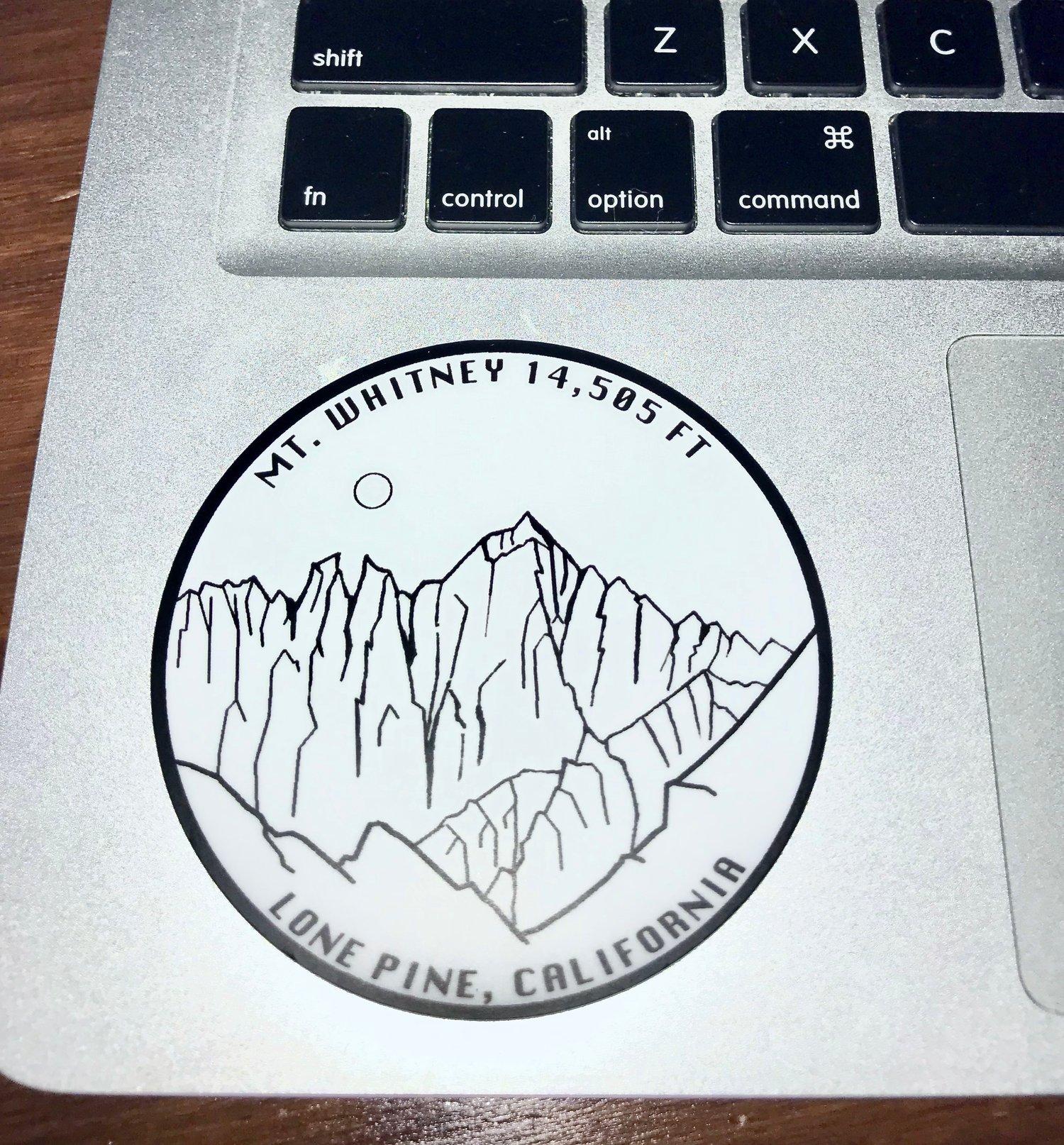 Image of Mt. Whitney Sticker