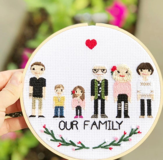 Image of Family Stitch