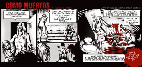 Image of COMO MUERTOS - Cronica Del Dolor (CD)