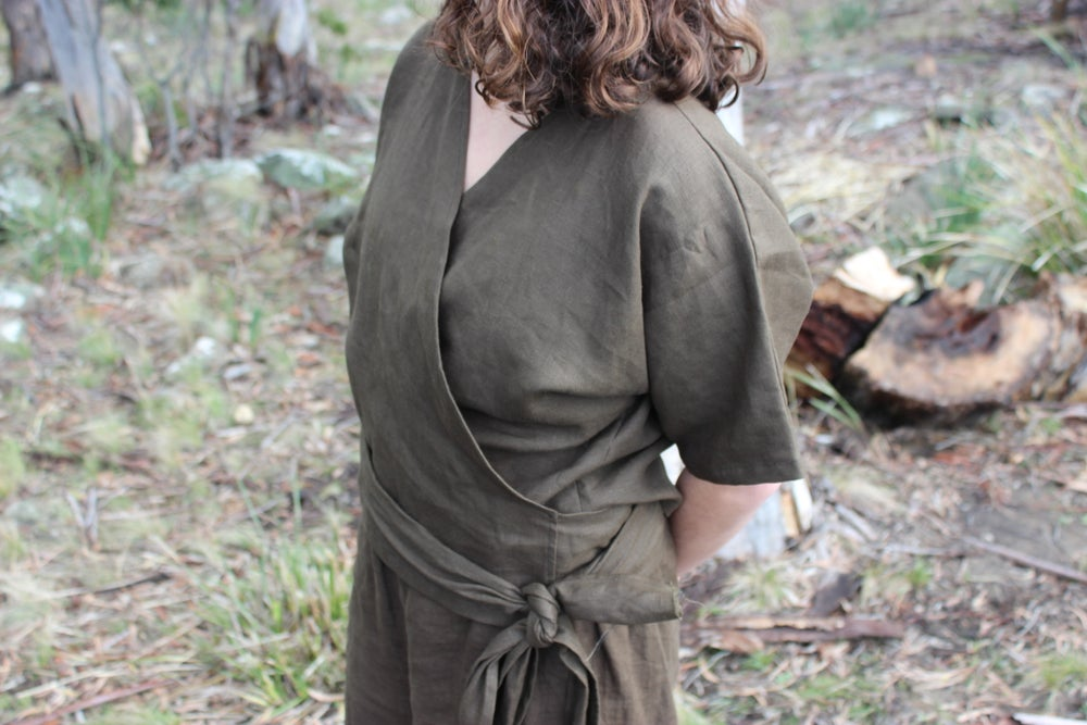 Image of Raven Wrap Top