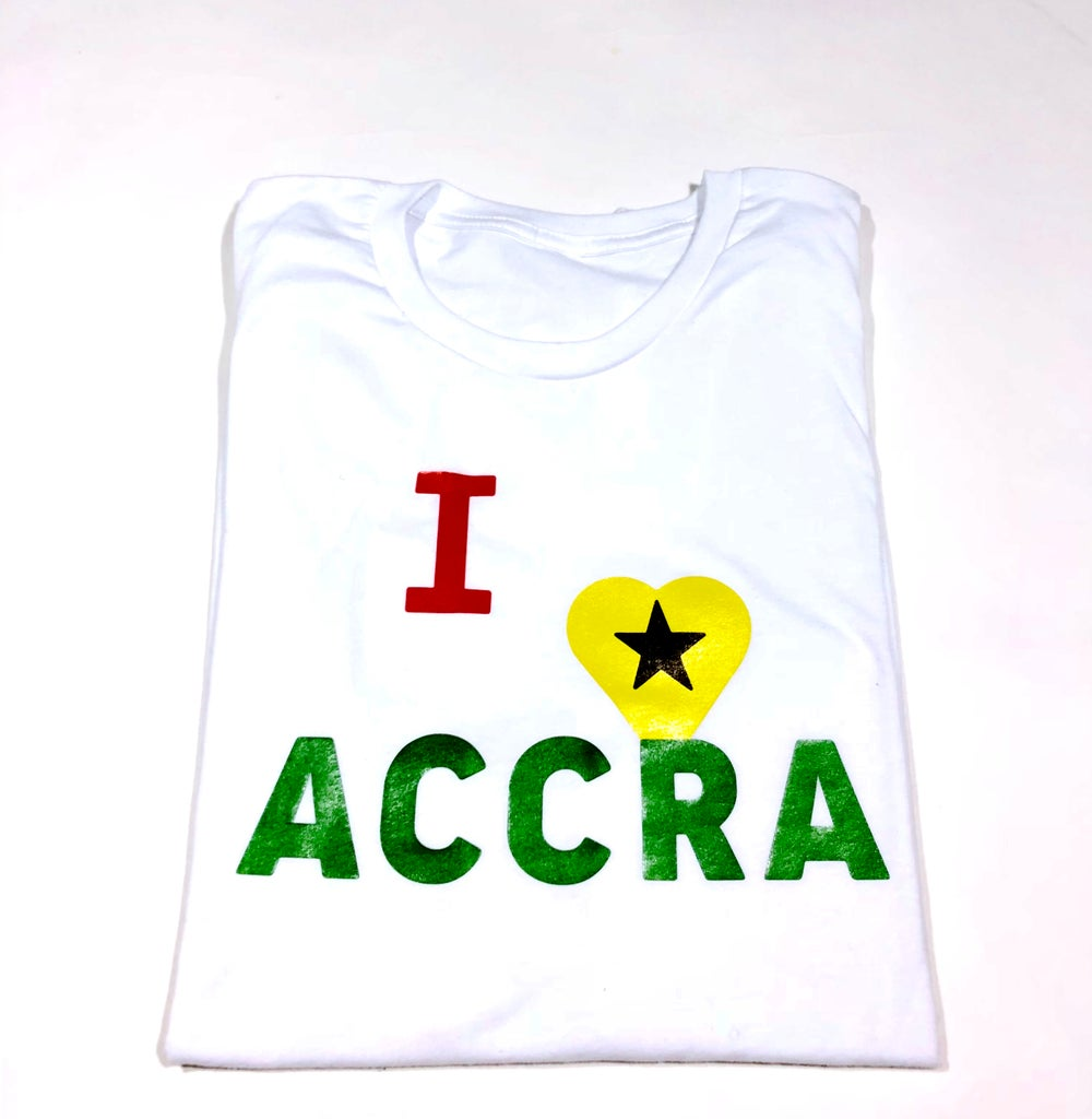 Image of I LOVE ACCRA TEE