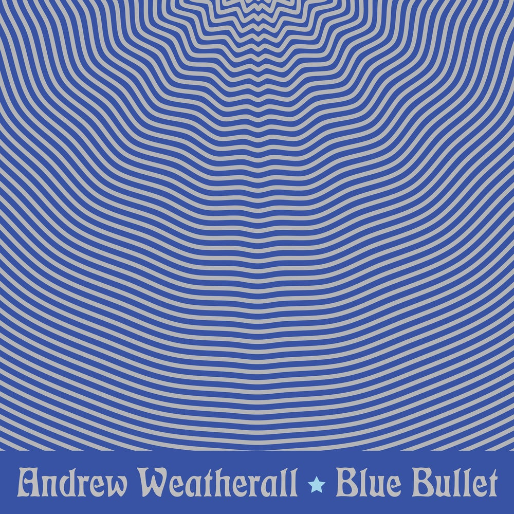 Image of Andrew Weatherall, 'Blue Bullet EP' vinyl and cassette bundle