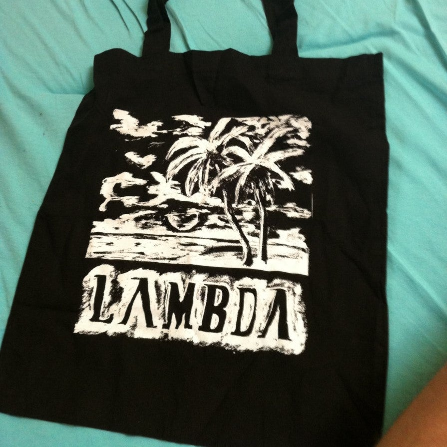 "Image of Lambda - Tote Bag ""tropical blast"""