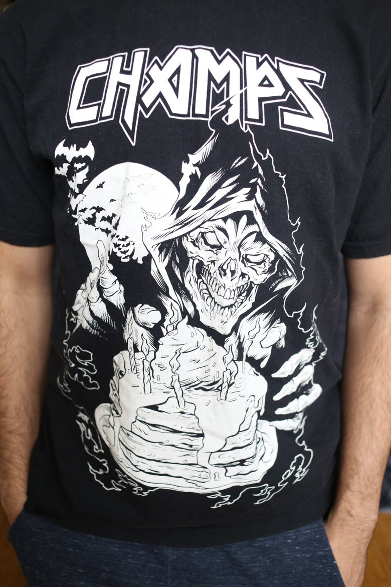 Image of Death By Pancakes Tee by Iron Skullet