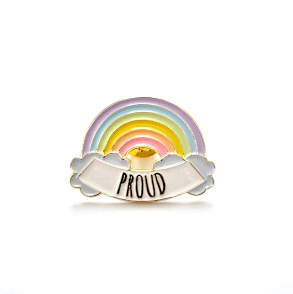 Image of Proud LGBT Rainbow