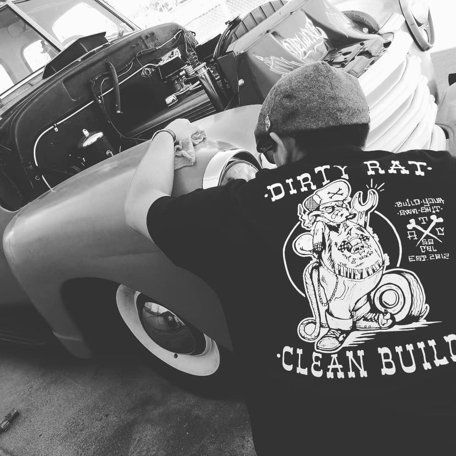 Image of Dirty Rat Clean Build Tee #buildyourownshit