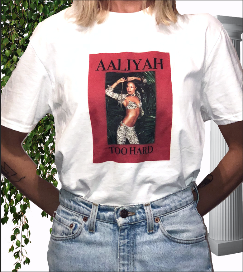 Image of Iconic Aaliyah shirt