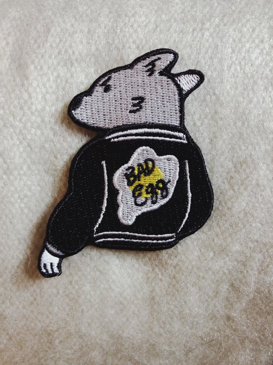 Image of Bad Egg Iron on Patch