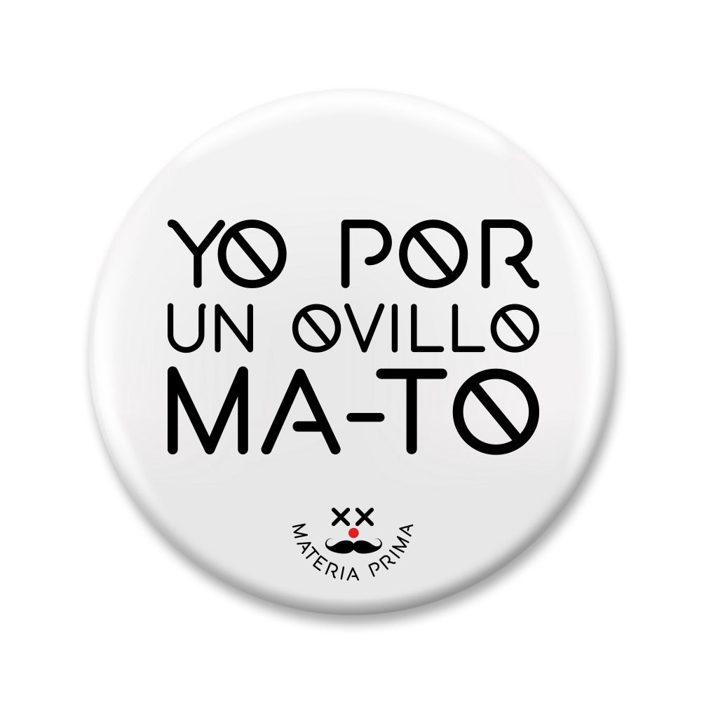 "Image of Chapa ""Por un ovillo ma-to"""