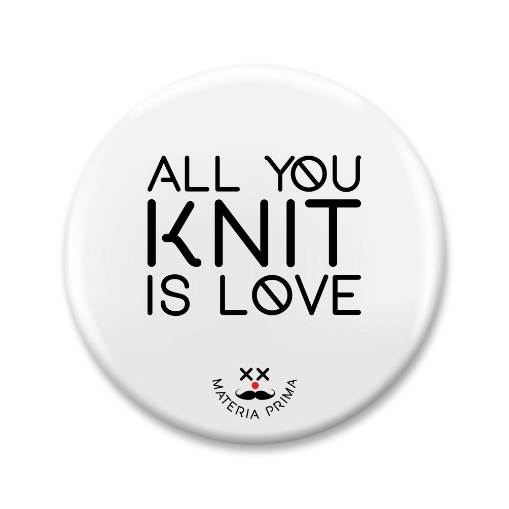 "Image of Chapa ""All you knit is love"""
