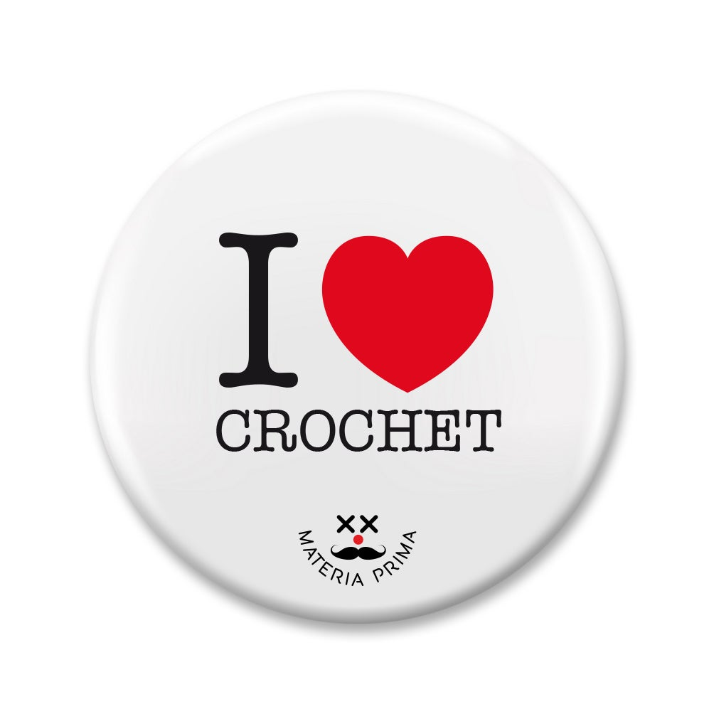 "Image of Chapa ""I love Crochet"""