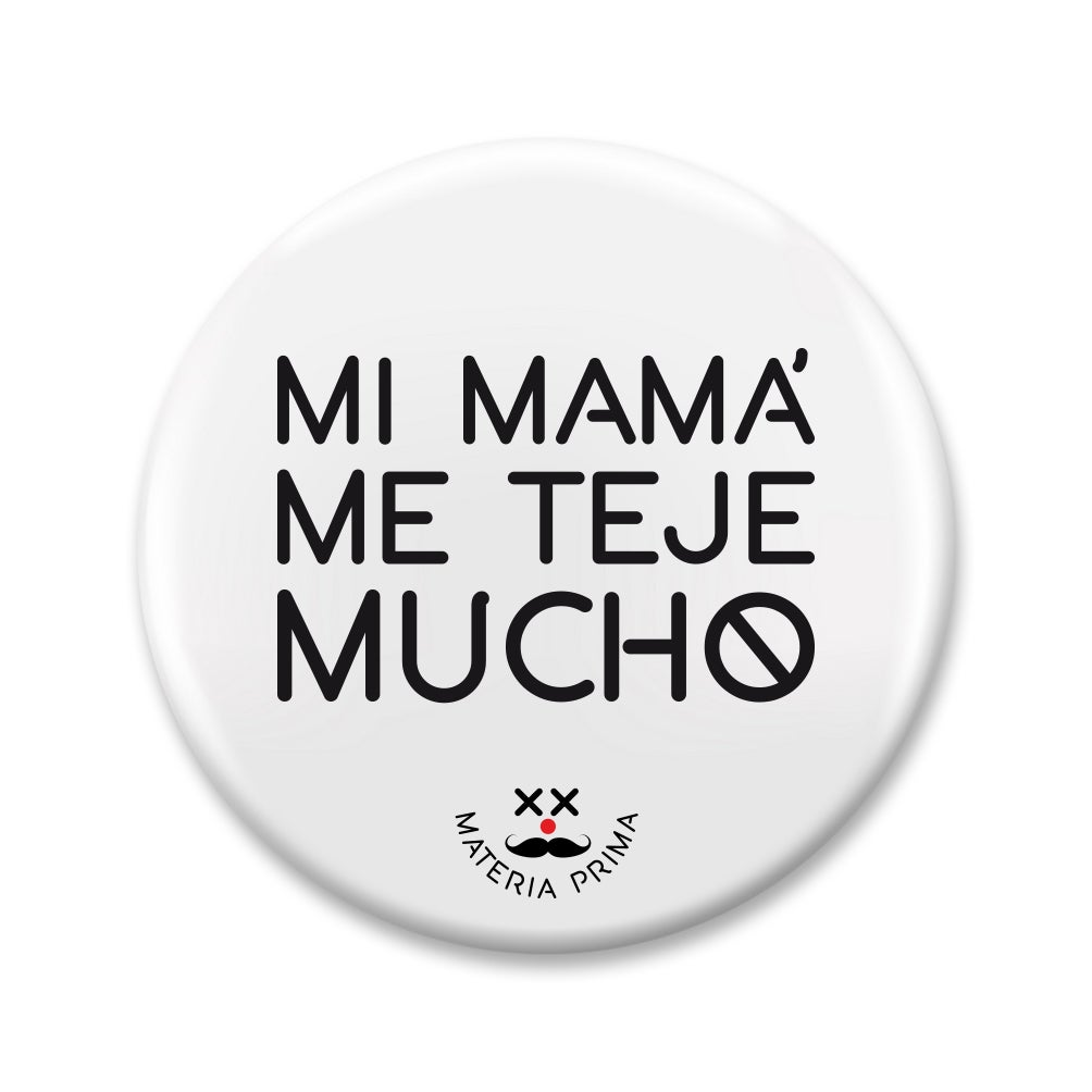 "Image of Chapa ""Mi mamá me teje mucho"""