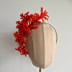 Image of Fiery red headpiece